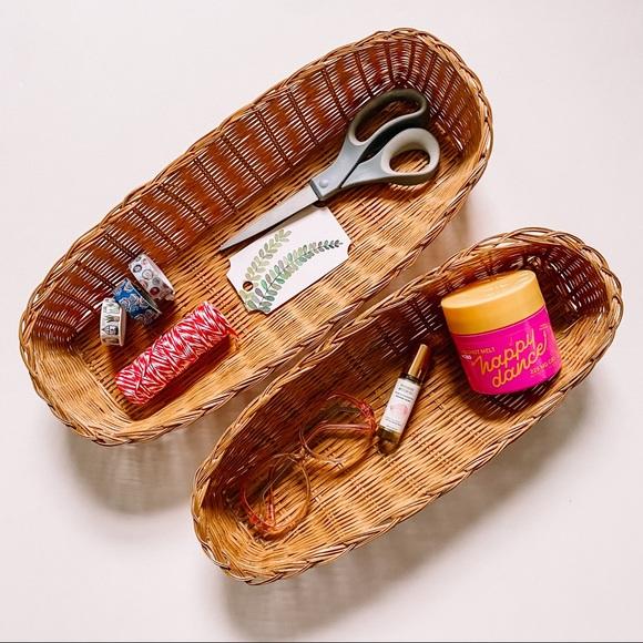 Pair of Boho Nesting Baskets